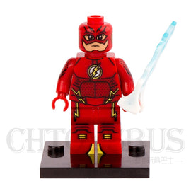 SingleSale The FLASH Barry Allen Young Justice Minifig DC Justice League Super Heroes Assemble Building Blocks Kids Toys