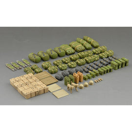 OHS Tamiya 35266 1/35 Modern US Army Military Equipment Set Assembly Military Miniatures Model Building Kits G