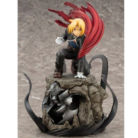 Fullmetal Alchemist Auto Mail Edward Elric Alphonse Elric Japanese Manga 22 CM PVC Action Figure Collectible Model Toy L1117