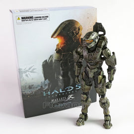 Camandetoy 26cm Play Arts KAI HALO 5 Guardians No.1 Master Chief PVC Action Figure Collectible Model Toy