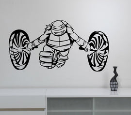 Ninja Turtles Wall Decal Boys Bedroom Decor Vinyl Wall Stickers Home Decor Kids Wall Decals Nursery Decor Windows Stickers WW-59
