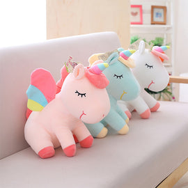 Unicorn Plush Toy Cute Unicorn Doll Cute Animal Stuffed Unicornio Soft Pillow Baby Kids Toys for Girl Birthday Christmas Gift