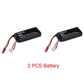Original  7.4V 1400mAh Lipo Battery For Hubsan H501S H501SS H502S H901A Transmitter Remote Controller H901A Battery h502s-25