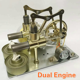 Stirling Engine Balance Engine Motor Model Heat Steam Education DIY Model Toy Gift For Kids Craft Ornament Discovery Alternator