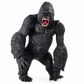 Camandetoy 35cm King Kong Figure Toys Big Size Hand Movable Figurine PVC Action Figure Collection Model Doll