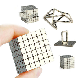 216pcs Magnetic Magic Cube Toys Mini Magnet Balls Puzzle DIY Assemble Magcube Toys For Children Adults Gift