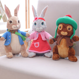 Wholesale Drop Shipping 100% New 30/45 cm Peter Lily Ben Rabbit Plush Stuffed Toy Gift For Children