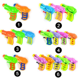 Plastic Extrusion Mini Small Gun Summer Outdoor Hot Beach Toys Run Men's Mini Water Variety Random Color For Kids Games