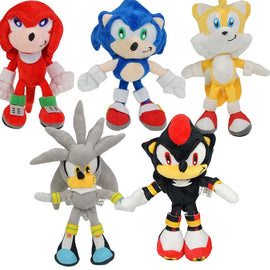 Camandetoy Game Sonic the Hedgehog bendy Ty Beanie Boos Stuffed & Plush Animals Toys for Children