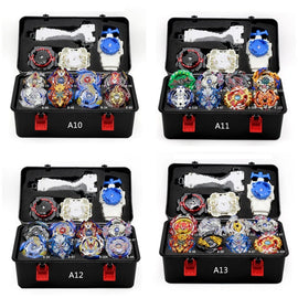 Camandetoy Beyblade Burst Set Toys Beyblades Arena Bayblade Metal Fusion Fighting Gyro 4D With Launcher Spinning Top Bey Blade Blades Toys