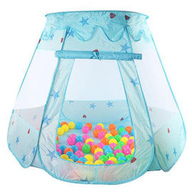 Summer Children's Ball Pool Playhouses Kids Baby Play Inflatable Pool Folded Portable Kids Outdoor Game in Play Tent for Gift