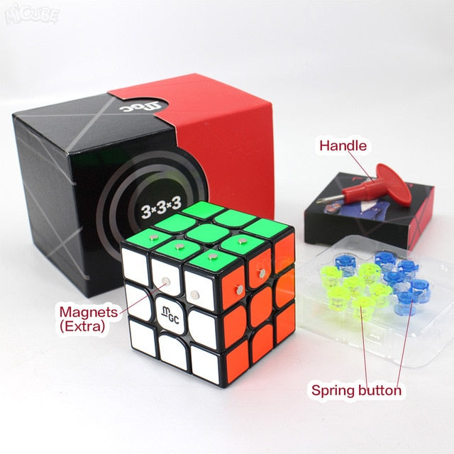 Magnetic Cube 3x3x3 Puzzle Game By Magnets for kids Toy