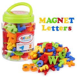 78pcs Magnetic Letters Numbers Alphabet Fridge Magnets Colorful Plastic Educational Toy Set Preschool Learning Spelling Counting