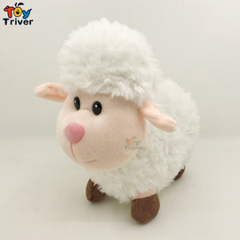 Plush Sheep Toy Triver Stuffed Cartoon Lamb Mutton Alpaca Dolls Baby Kids Children Kawaii Birthday Gift Home Decor Drop Shipping
