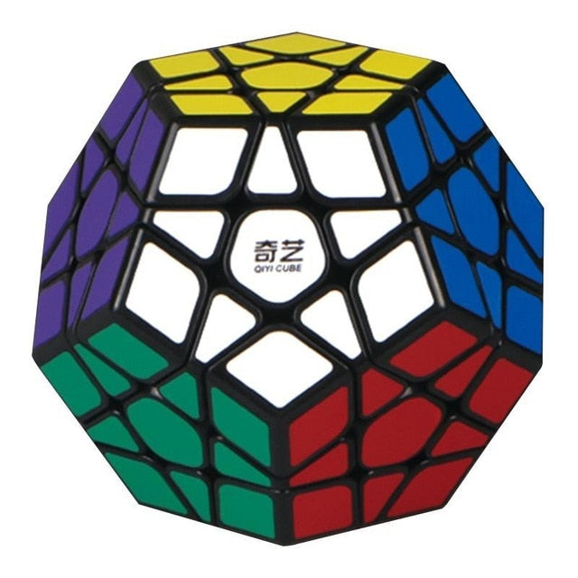 3rd order Megaminx Magic Cube Stickerless Dodecahedron Speed Cubes Brain Teaser Twist Puzzle Toy