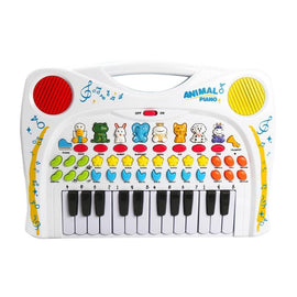 Baby Kids Musical Educational Recording Replay Animal Sound Toy Piano Developmental Music  Learning Instrument Toys