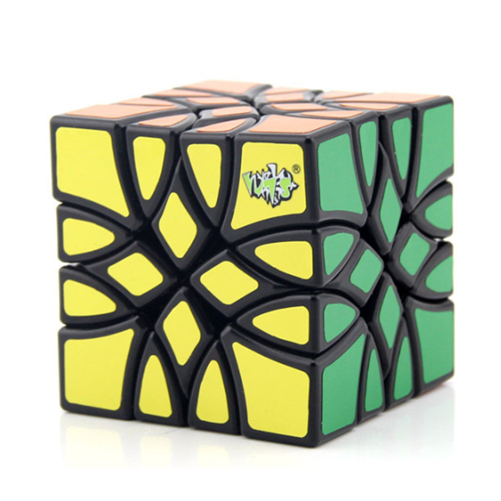 Magic Cube Puzzle Black Learning&Educational Cubo magico Kid Educational Toys Speed cube as a gift