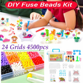 24 Colors DIY Water Mist Magic Beads Toys For Children Animal Molds Hand Making Puzzle Kids Education Toys Spell Replenish Beans