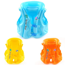 New Summer Baby Safety Ride-On Swimming Buoyancy Vest Toys Kids Pool Rafts Float Swim Inflatable Tube Life Jacket Babies Toys