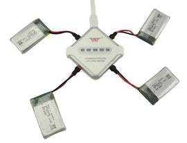 Model battery SYMA X54HW X54HC remote control helicopter accessories 4PCS 3.7V 850mah lithium battery and 4 in 1 charger