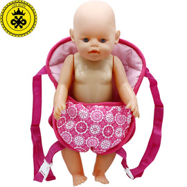 Outgoing Packets Outdoor Carrying  Doll Straps Suitable for Carrying 33cm 35cm-43cm Baby Babies Doll 18 inch Girl Doll B-3