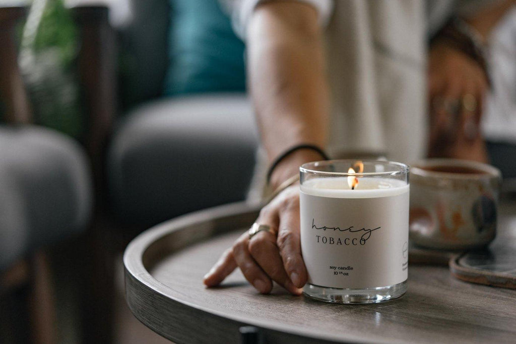 Picot Collective  - Honey Tobacco Candle
