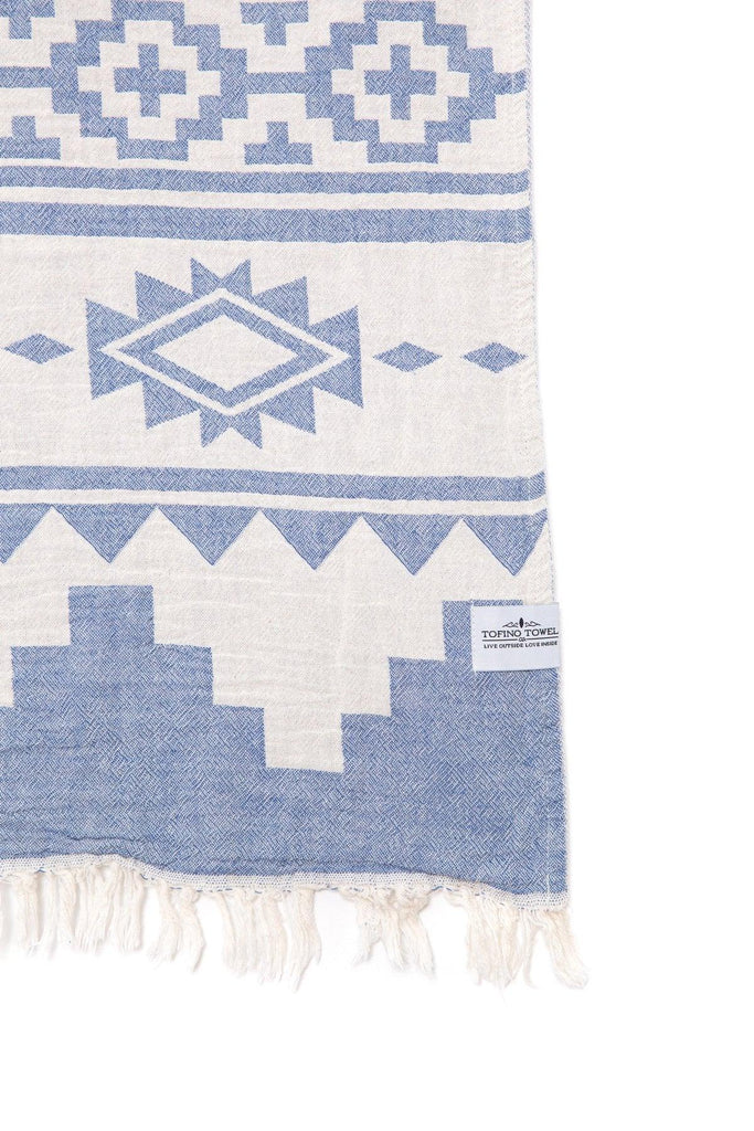 The Beachcomber Towel - Denim Blue