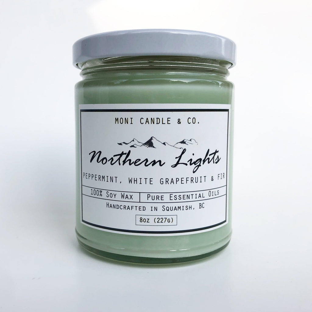 Moni Candle & Co - Northern Lights Candle