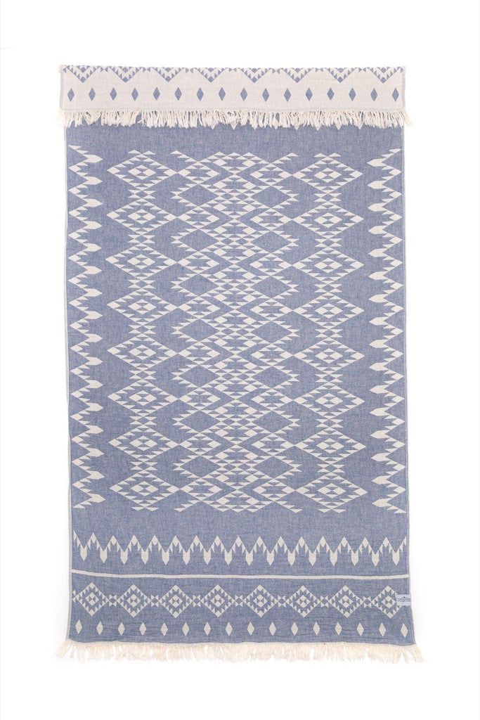The Coastal Towel - Denim Blue
