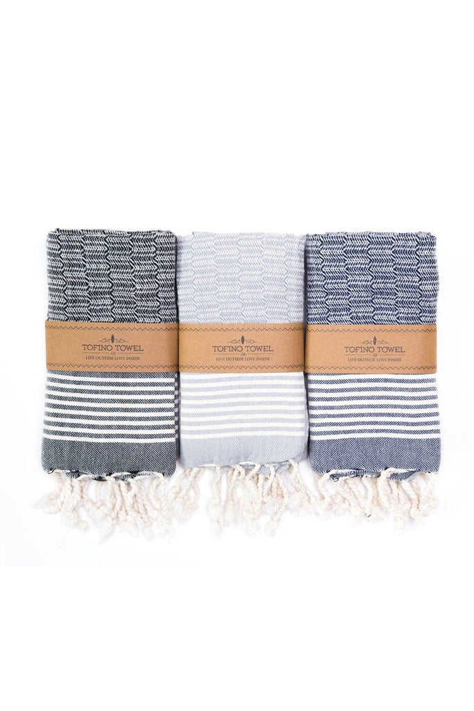 The Helm Kitchen Towel - Grey