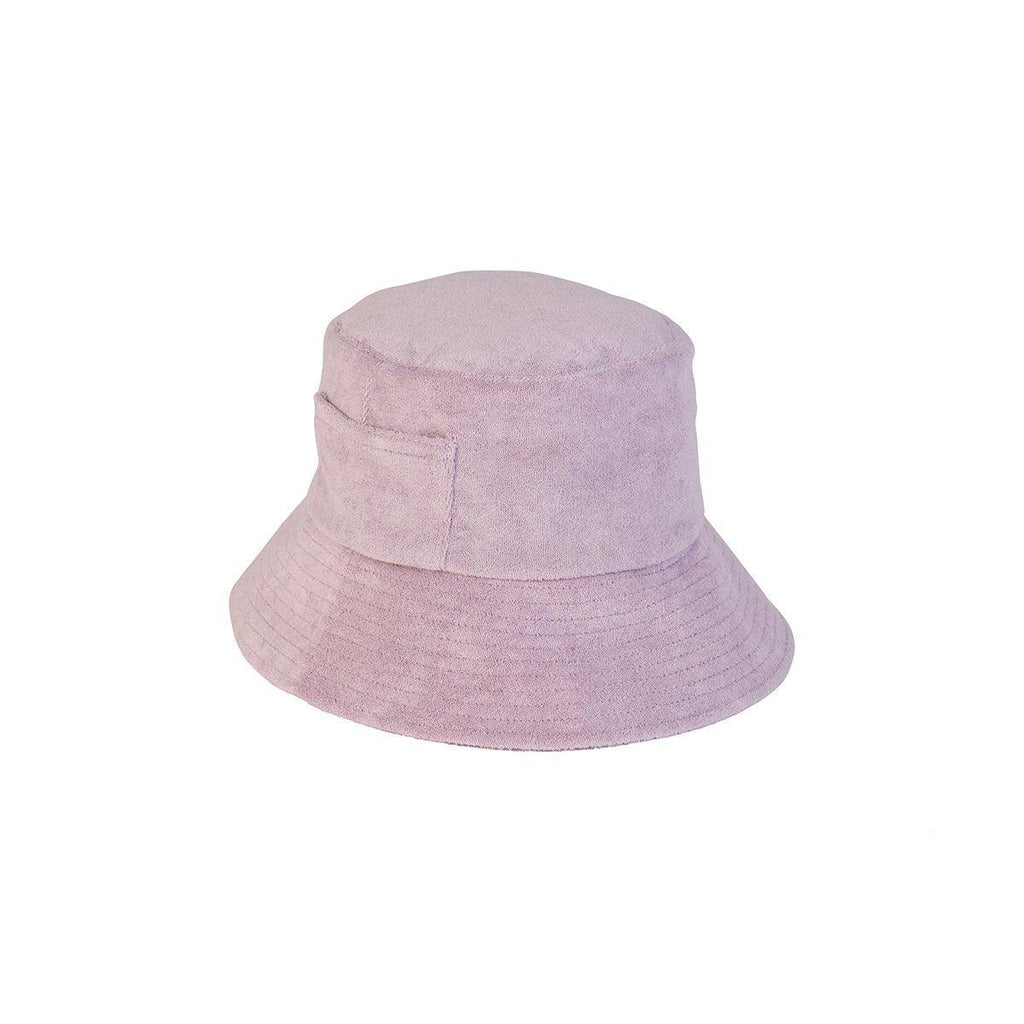 Wave Bucket Hat - Lavender