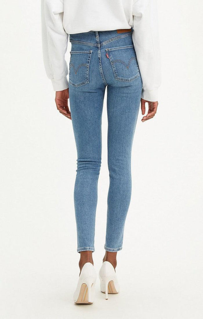 Levi's - MILE HIGH SUPER SKINNY- Premium Red Tab - Better Safe Than Sorry