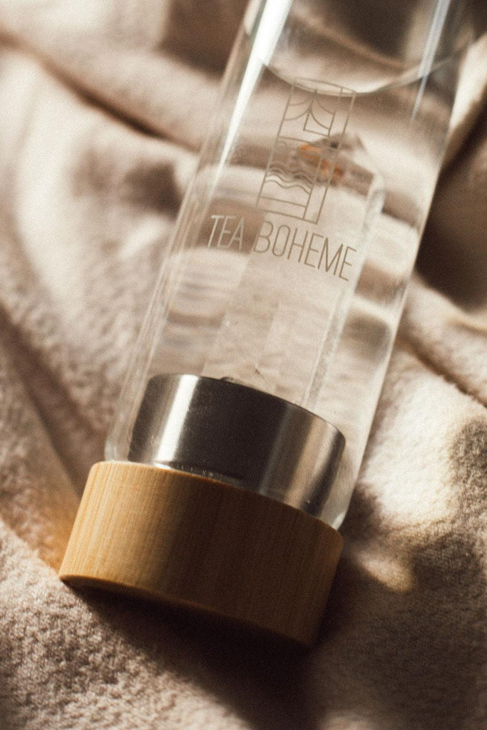 Tea Boheme - Clear Quartz Crystal Tea & Water Bottle