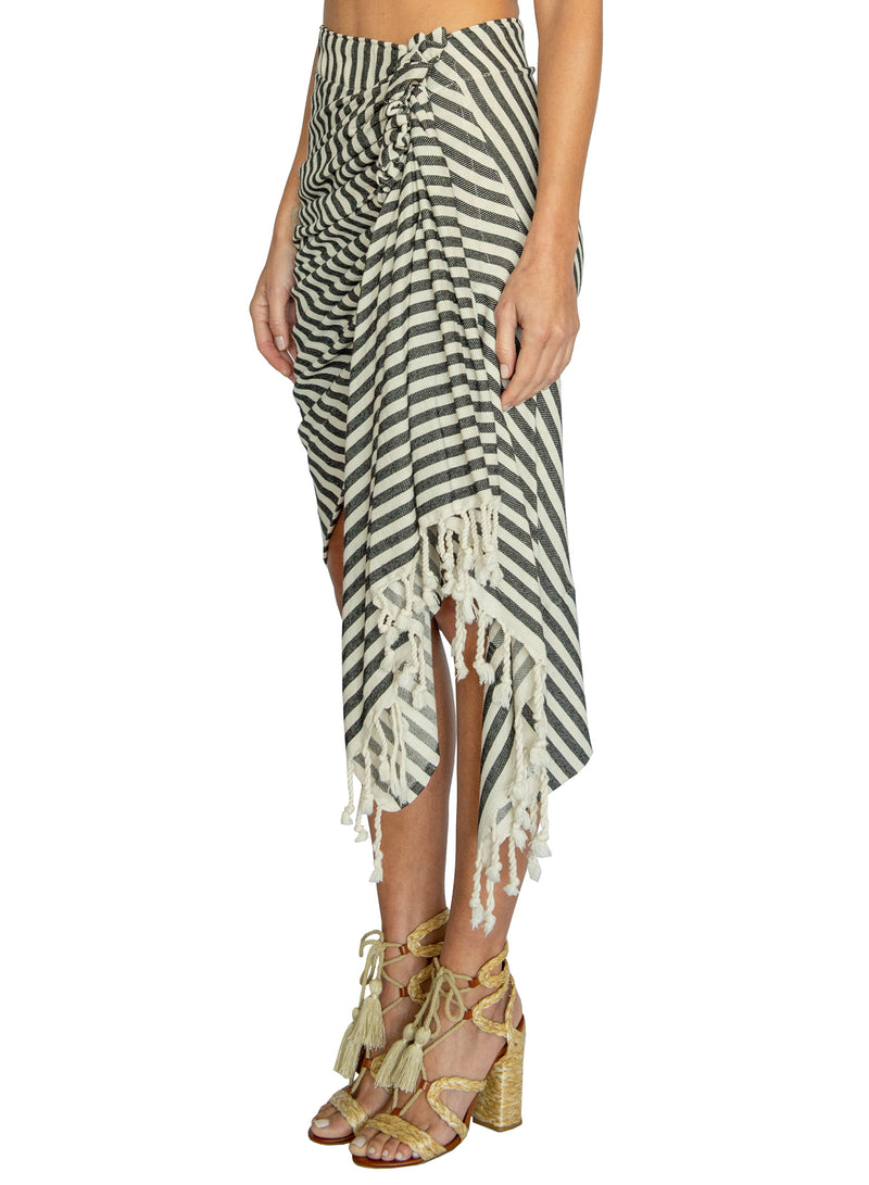 TULUM STRIPE - BLACK