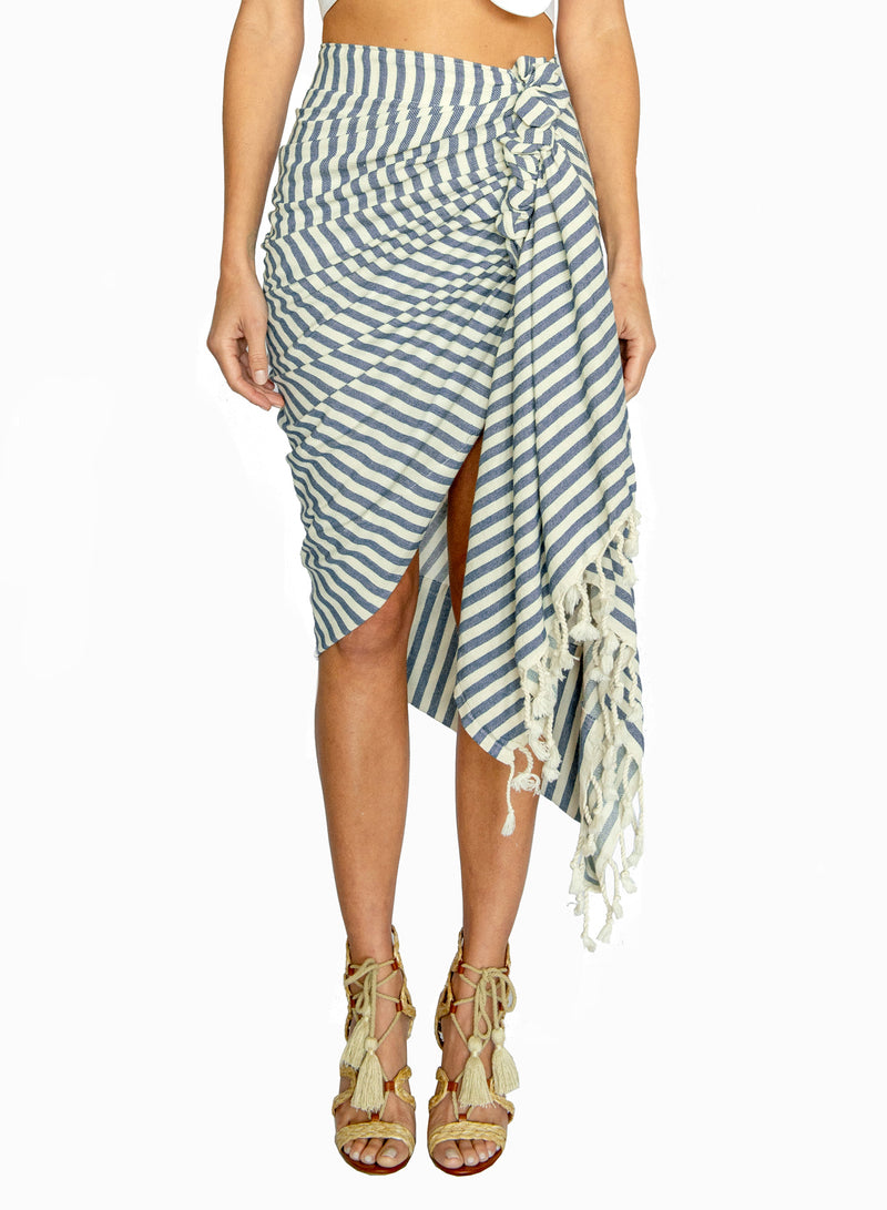 Tulum Stripe - Denim