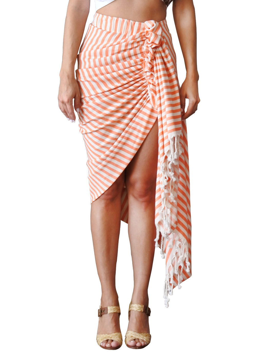 TULUM STRIPE - ORANGE