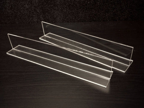 Two Stand-up Acrylic Dividers for Makeup Organizer
