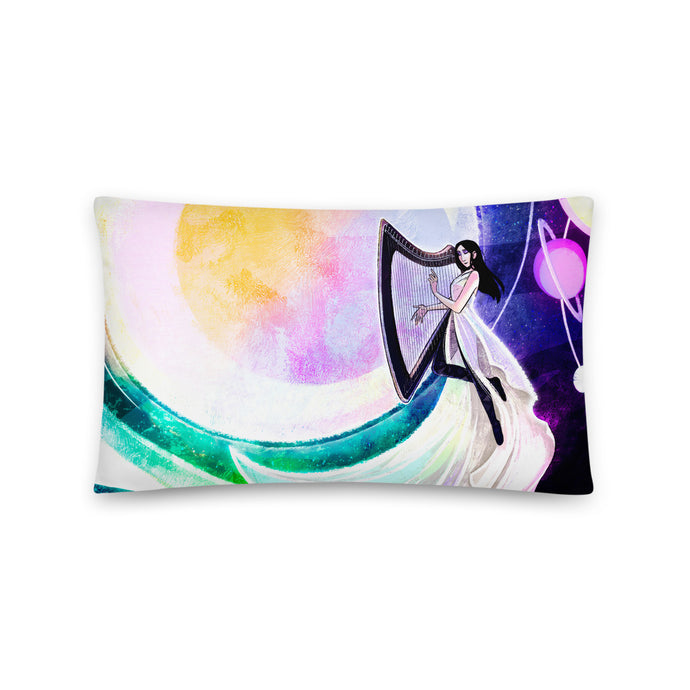 Worlds Away Throw Pillow