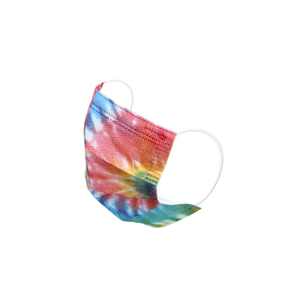 TIE DYE KIDS DISPOSABLE FACE MASK