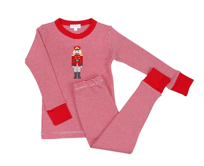 STRIPED NUTCRACKER PJ SET