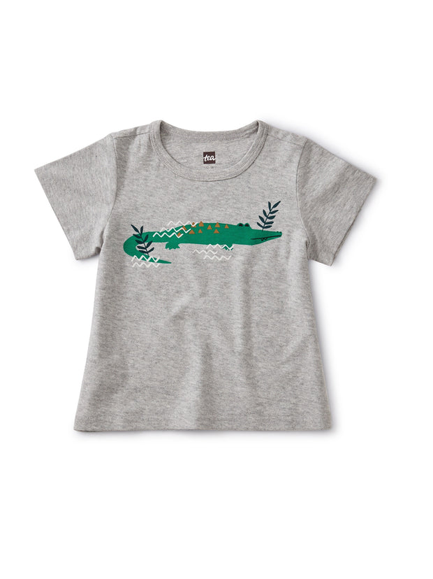 CURIOUS CROCODILE GRAPHIC TEE