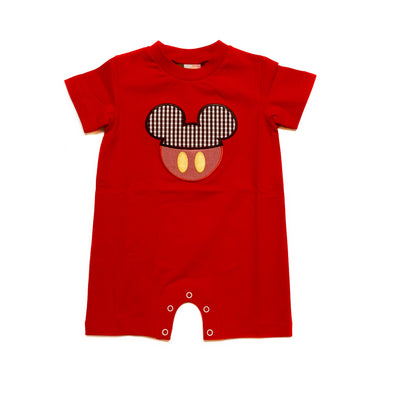 MICKEY MOUSE KNIT ROMPER