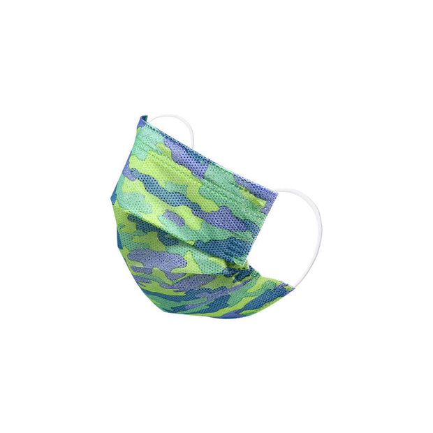 CAMO KIDS DISPOSABLE FACE MASK