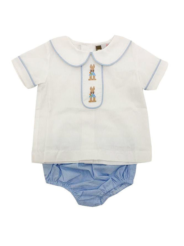 BOYS PETER RABBIT BLOOMER SET