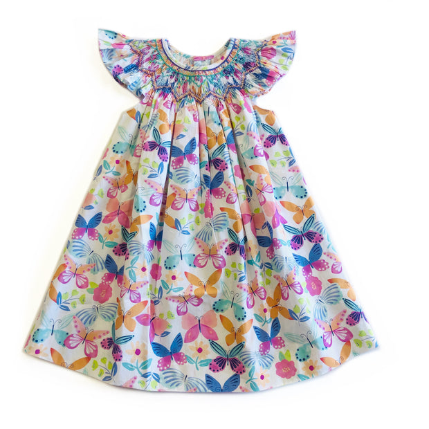BUTTERFLY BISHOP DRESS