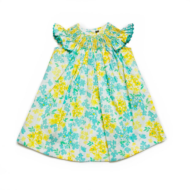 HAND PICKED SMOCKED BISHOP DRESS