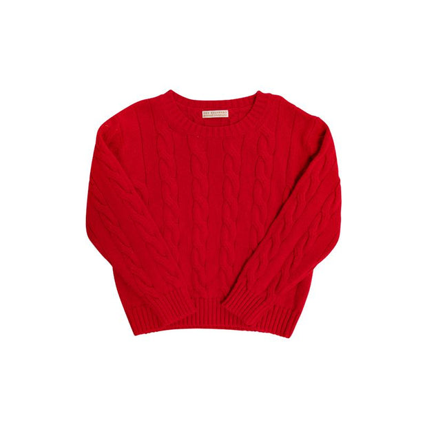 CRAWFORD CREWNECK IN RED