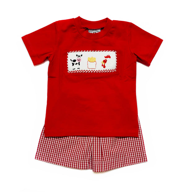 KIDS MEAL BOY SHORT SET