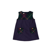JILL JUMPER IN HORSE TRAIL TARTAN