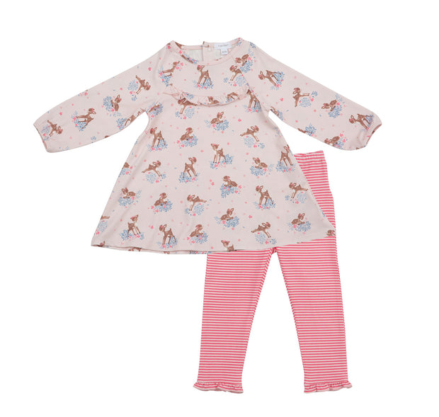 WOODLAND DEER LEGGING SET